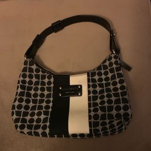 Kate Spade Small Purse Black and White